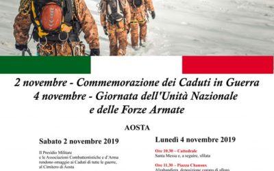 Discorso ufficiale per la Giornata dell'Unità Nazionale e delle Forze Armate